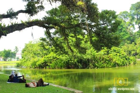 bersantai di Kebun Raya Bogor